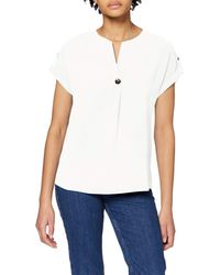 Dorothy Perkins Ivory Sustainable Utility Drop Shoulder Top Blouse - White