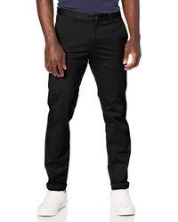 Tommy Hilfiger Tailored HMT-W PNTSLD99002, Pantalones para Hombre, Azul (429), única (Talla del Fabricante: 98) - Negro