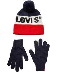Levi's Sportswear Logo Giftset Gloves - Blue