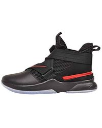 new products 4d0bd 53a7f Lebron Soldier Xii Flyease S Basketball Training Shoes Av3812 - Black
