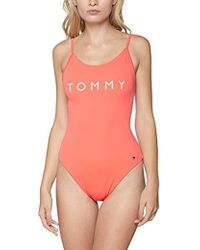 Tommy Hilfiger One Maillot Une pièce - Rouge