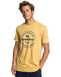 Quiksilver Secret Ingredient Tee-shirt - Yellow