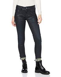 G-Star RAW Lynn Biker Mid Waist Skinny Jeans - Mehrfarbig