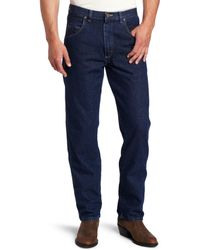 Wrangler Mens Tall Flame Resistant Relaxed Fit Jean