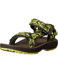 Teva Hurricane 2 Sandals - Green