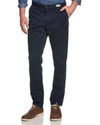 Tommy Hilfiger - Mercer Chino Harvard Twill Trousers - Lyst