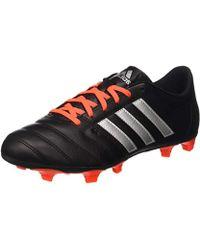 5ff307e77b5 Adidas Gloro 161 Ag Men s Football Boots In Black in Black for Men ...