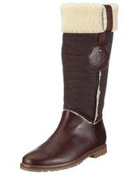 wholesale dealer fd96b b0e63 Tommy Hilfiger Wera Boot in Midnight (Black) - Lyst
