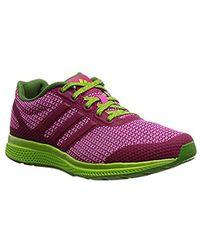 Lyst - adidas Originals Af4116  Mana Bounce Knit 2.0 Grey pink ... 541f40197