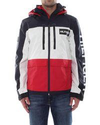 Tommy Hilfiger Tech Hooded Jacket Blouson - Rouge