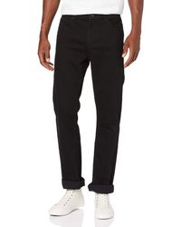 FIND Jeans Slim Fit con Elastici - Nero