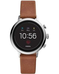 Fossil Gen 4 Smartwatch With Wear Os By Google With Activity Tracker - Brown