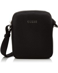 Guess Dan Pu Mini Document Case - Noir
