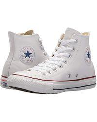 a2e27d09882c Lyst - Converse Chuck Ii Perforated Metallic High Top Women s Shoe ...