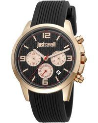 Just Cavalli Orologio Elegante JC1G175P0025 - Nero