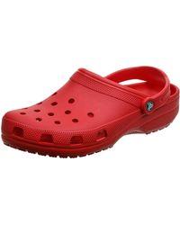 Crocs™ Classic Clog Adulta Zuecos - Rojo