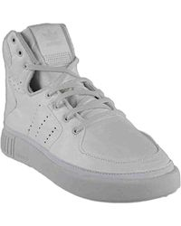 low priced c6222 4209d adidas Originals - Tubular Invader Strap Fashion Sneakers - Lyst
