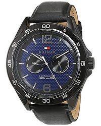 Tommy Hilfiger Reloj para Hombre 1791368 - Azul