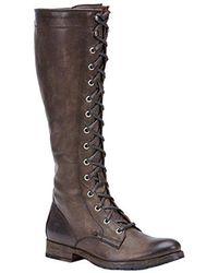 Frye - Melissa Tall Lace Riding Boot - Lyst