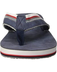 Superdry Roller Flip Flop - Bleu