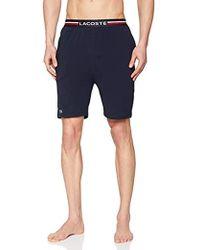 Lacoste Raml321, Pantalones de Pijama Hombre, Azul (Navy 410), Small
