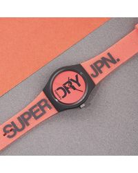 Superdry - Femme Analogique Quartz Montre avec Bracelet en Silicone SYL189CE - Lyst