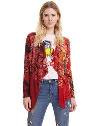 Desigual Pullover Adriana Jersey - Rojo