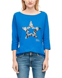 S.oliver - 14.912.39.5911 T-Shirt - Lyst