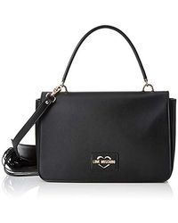 Love Moschino Calf Pu - Nero