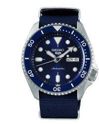 Seiko 5 Sport Orologio automatico da uomo con cinturino Nato blu