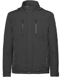 Geox M Vincit G Coat - Black