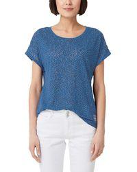 S.oliver 14.903.32.4804 T-Shirt - Blau