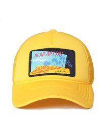 Napapijri Forbes Baseball Cap - Yellow
