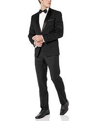 Vince Camuto Slim Fit Tuxedo - Black