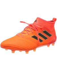 adidas Ace 17.1 FG, Chaussures de Football Homme - Orange