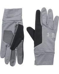 Under Armour No Breaks Liner Gloves - Black