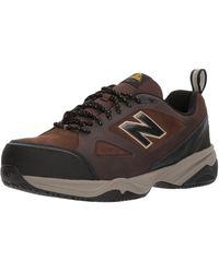New Balance Leather Steel Toe 627 V2