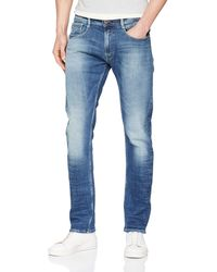Replay Rob Straight Jeans - Blue
