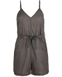 O'neill Sportswear Lw Playsuit-mix And Match Casual Dress - Black