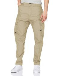 G-Star RAW Droner Relaxed Tapered Cargo Pant Pantaloni - Neutro