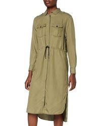 G-Star RAW Rovic Maxi Shirt Dress L/s - Green