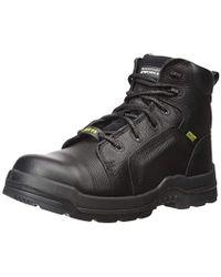 Rockport Work More Energy Rk6465 Work Shoe - Black