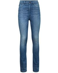 G-Star RAW Kafey Ultra High Waist Skinny Jeans - Blue