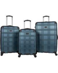Ben Sherman Nottingham Hardside Spinner Luggage - Green