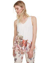 Desigual T-Shirt Scarlett Camiseta - Blanco