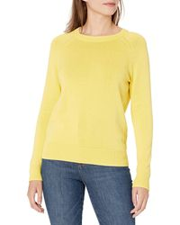 Goodthreads Mineral Wash Crewneck Sweatshirt Sweater Sweaters - Giallo