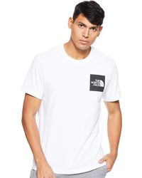 The North Face M S/s Fine Short Sleeve T-shirt - White