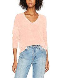 Vero Moda Vmmoraga Ls V-neck Blouse - Pink