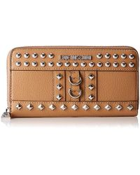 bb64f9c315b Love Moschino Portafogli Pu Wallet in Red - Lyst