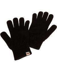 Levi's 11 Plain Or Unicolor Gloves - Black